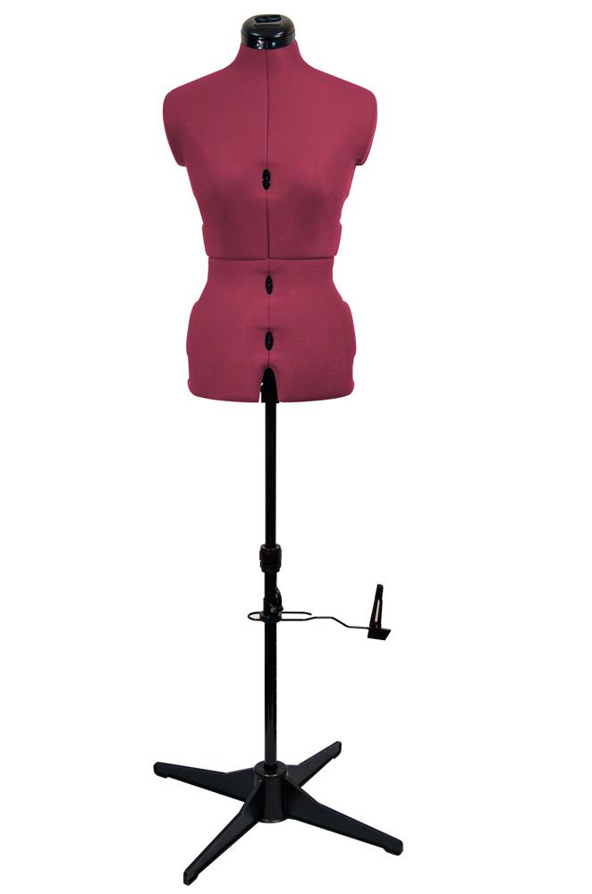 Манекены Adjustoform Tailormaid S 42-52  Портновский раздвижной манекен Tailormaid (S) 42-52 английского бренда Adjustoform состоит из восьми регулируемых частей, что позволяет создать прототип фигуры в соответствии с ее особенностями в рамках заданного р ИП Евдокимов И.А.