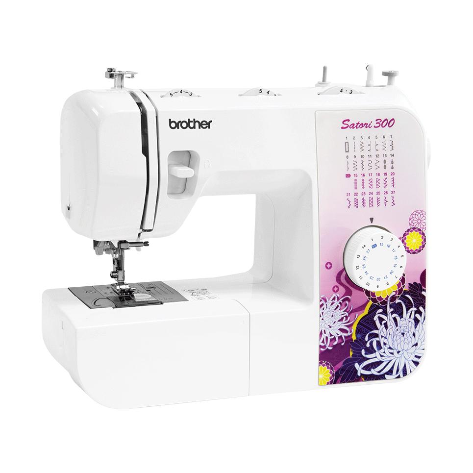 Швейные машины Brother Satori 300  Швейная машина Satori 300 позволяет выполнять 27 видов строчек, в том числе и автоматическое выметывание петли в 1 прием. Если вы выбираете машину для ремонта одежды, пошива простых вещей и домашнего текстиля и решаете н ИП Евдокимов И.А.