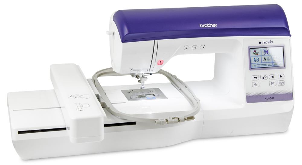 Вышивальные машины Brother In-novis 850 E (NV 850E)  Если вы задумывались о приобретении вышивальной машины к уже имеющейся швейной, то обратите внимание на вышивальную машину Innov-is 850E. Она располагает достаточно большой областью вышивания размером 1 ИП Евдокимов И.А.