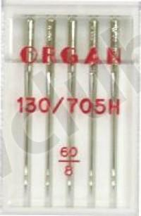 Иглы Organ  Пять игл универсальных №60 Мир Шитья магазин швейной техники и аксессуаров