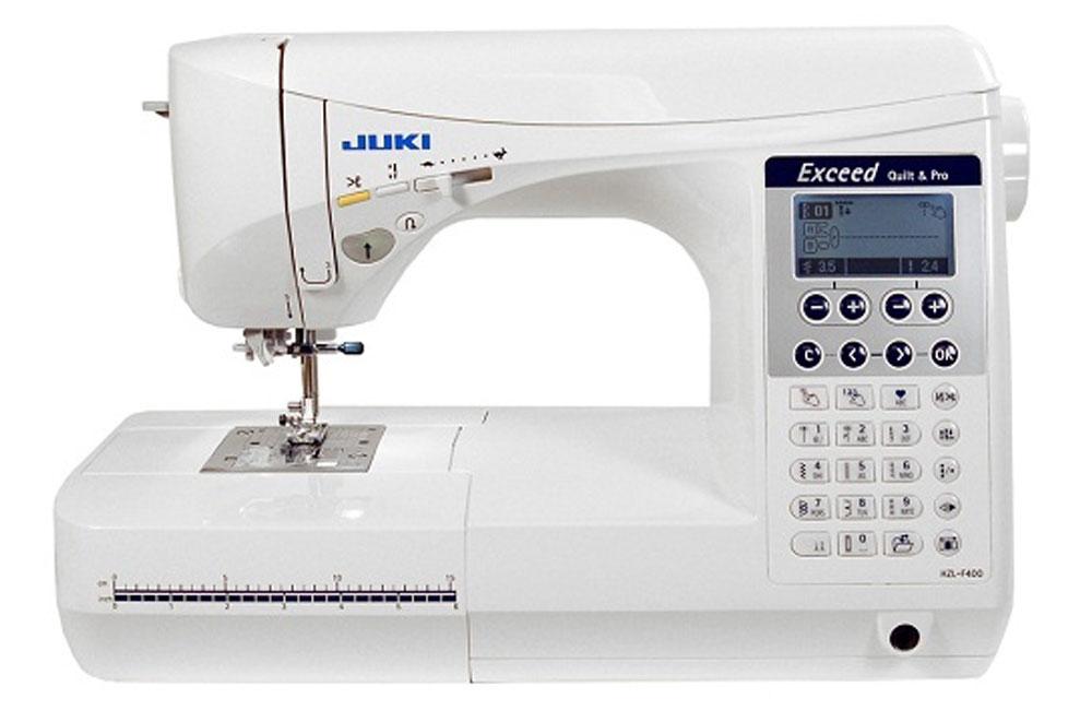 Швейные машины Juki HZL-F400  МодельJuki HZL-F400предназначена для использования в домашних условиях, особенно для выполнения декоративных и квилтинговых работ. Профессионалы и любители оценят легкость работы наэтой машине. В результате ИП Евдокимов И.А.