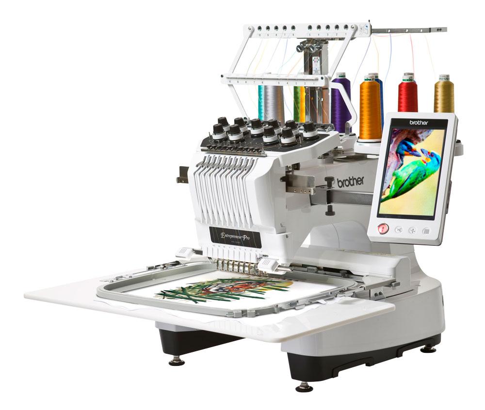 Вышивальные машины Brother PR-1050Х  Вышивальная машина PR1050X – революционный продукт компании Brother. Эта машина рассчитана, как для любителей вышивки, так и для предпринимателей. Для тех, кто ищет мощную 10-игольную машину с высокой производительност ИП Евдокимов И.А.