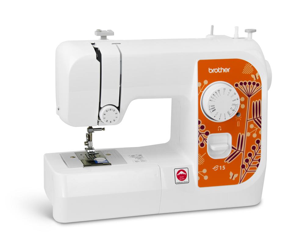 Швейные машины Brother E15  Электромеханическая швейная машина Brother e15 упрощает выполнение повседневных швейных задач, таких как подшивание низа брюк, обметывание петель или ремонт швов. Эта легкая, но надежная швейная машина отлично подойдет для тех, ИП Евдокимов И.А.