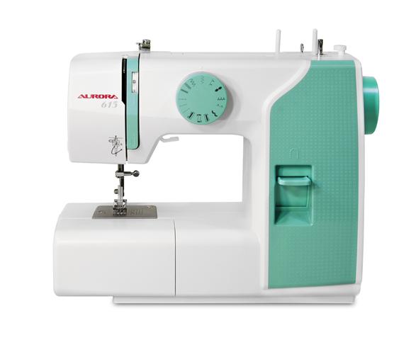Швейные машины Aurora Aurora 615  Швейная машина Aurora 615 - компактная модель которая подойдет для начинающих любителей шитья. Ее габаритные размеры (Ш) 34 х (В) 29 х (Г) 17 см. Размер рабочей области 14.5 см. Небольшой набор швейных операций (13) включ ИП Евдокимов И.А.