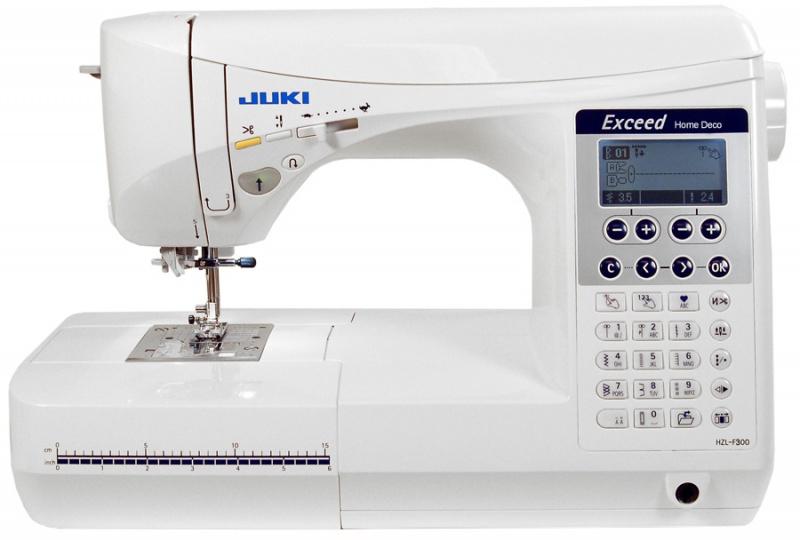 Швейные машины Juki HZL-F300  Модель Juki HZL-F300 предназначена для использования в домашних условиях, особенно для выполнения декоративных и квилтинговых работ. Профессионалы и любители оценят легкость работы на этой машине. В результате изучения технич ИП Евдокимов И.А.